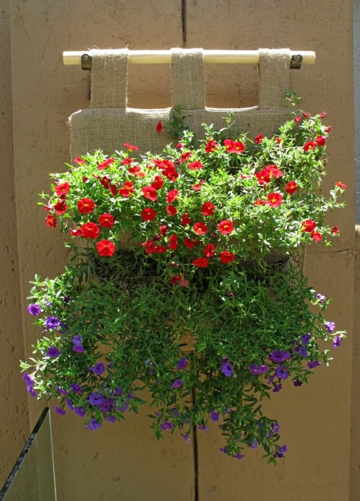 4- Planter herb vertical garden with PatioScapes GrowBagZ™