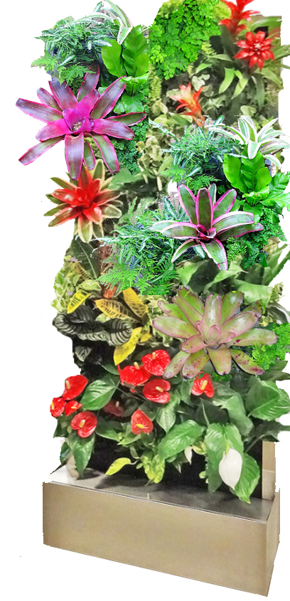 Mobile-vertical-garden-rental-unit
